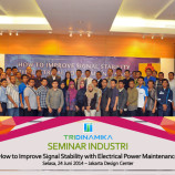 "Seminar Industrial Tridinamika – ""How to Improve Signal Stability with Electrical Power Maintenance"""