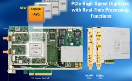 Agilent Technologies Menambahkan Averager Kemampuan untuk Digitizers PCIe , Memperpanjang Rentang Fungsi Pengolahan Real-Time