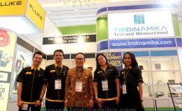 Menampilkan Berbagai Produk Alat Ukur Ternama, Ketua MKI Mendukung Tridinamika Untuk Penyediaan Alat Ukur Kelistrikan  Di Indonesia