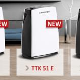 Kenyamanan Dehumidifier Baru dari Seri TTK-E