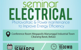 """SEMINAR ELECTRICAL: """"Photovoltaic & Power Maintenance to Improve Energy Efficiency"""""""