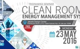 "Invitation Seminar: ""Clean Room & Energy Management System"""