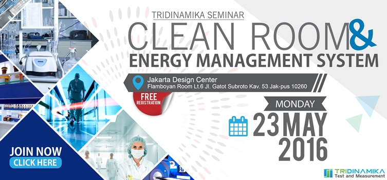 "Invitation Seminar: ""Clean Room & Energy Management System"""