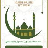 Selamat Hari Raya Idul Fitri 1437 Hijriah