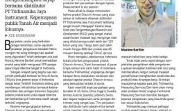 Chauvin Arnoux Berusaha Fokus Tumbuhkan Kepercayaan Publik Tanah Air Melalui PT Tridinamika Jaya Instrument.