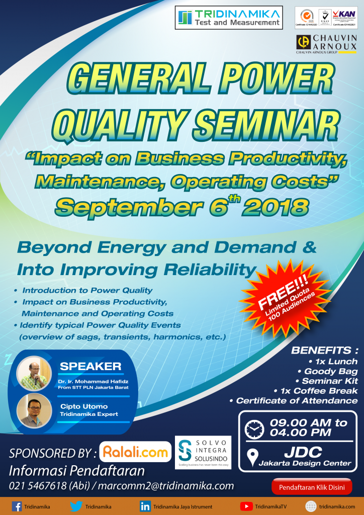 GENERAL POWER QUALITY SEMINAR