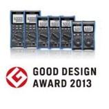 Good Design Award 2013 diberikan kepada HIOKI Digital Multimeter DT4200