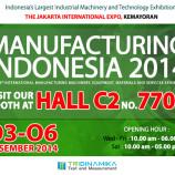 Tridinamika Hadir Di Pameran Manufacturing Indonesia 2014