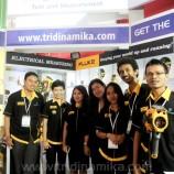 Pameran Manufacturing Indonesia 2014, Booth Tridinamika Ramai Diserbu Pengunjung