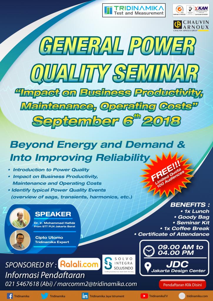 GENERAL POWER QUALITY SEMINAR
